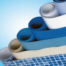 Liner PVC armat piscine